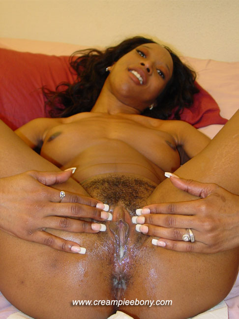 Hot dripping black pussy